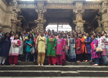 Historical sites review@Adalaj Step well – JG College Of